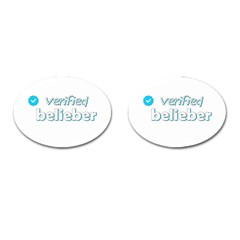 Verified Belieber Cufflinks (oval)