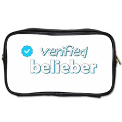Verified Belieber Toiletries Bags by Valentinaart