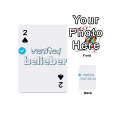 Verified Belieber Playing Cards 54 (mini)