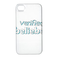 Verified Belieber Apple Iphone 4/4s Hardshell Case With Stand
