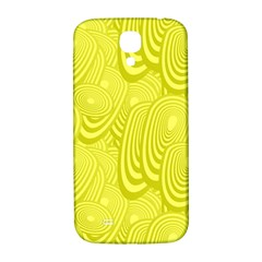 Yellow Oval Ellipse Egg Elliptical Samsung Galaxy S4 I9500/i9505  Hardshell Back Case