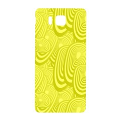 Yellow Oval Ellipse Egg Elliptical Samsung Galaxy Alpha Hardshell Back Case