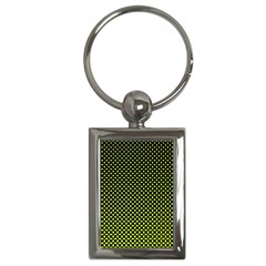 Pattern Halftone Background Dot Key Chains (rectangle)