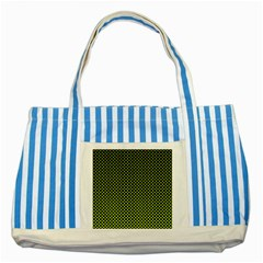 Pattern Halftone Background Dot Striped Blue Tote Bag