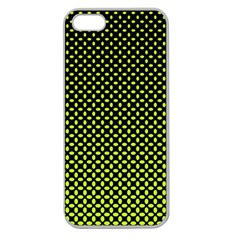 Pattern Halftone Background Dot Apple Seamless Iphone 5 Case (clear)