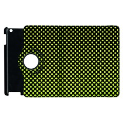 Pattern Halftone Background Dot Apple Ipad 3/4 Flip 360 Case by BangZart