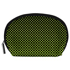 Pattern Halftone Background Dot Accessory Pouches (large)  by BangZart