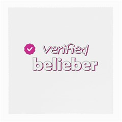 Verified Belieber Medium Glasses Cloth by Valentinaart
