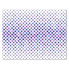 Star Curved Background Geometric Rectangular Jigsaw Puzzl by BangZart