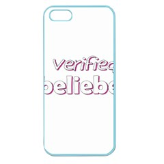 Verified Belieber Apple Seamless Iphone 5 Case (color) by Valentinaart