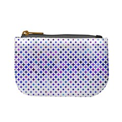 Star Curved Background Geometric Mini Coin Purses by BangZart