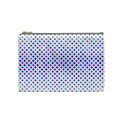 Star Curved Background Geometric Cosmetic Bag (medium)