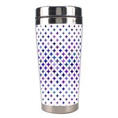 Star Curved Background Geometric Stainless Steel Travel Tumblers