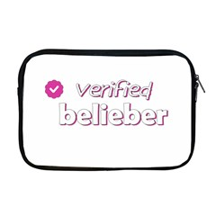 Verified Belieber Apple Macbook Pro 17  Zipper Case by Valentinaart