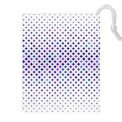 Star Curved Background Geometric Drawstring Pouches (xxl) by BangZart