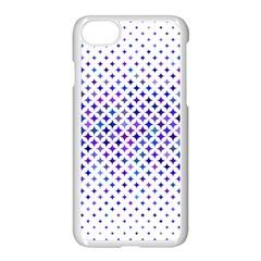 Star Curved Background Geometric Apple Iphone 7 Seamless Case (white)