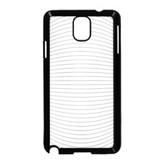 Pattern Background Monochrome Samsung Galaxy Note 3 Neo Hardshell Case (black)