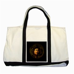 Medusa Two Tone Tote Bag by Valentinaart