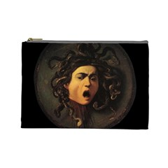 Medusa Cosmetic Bag (large)  by Valentinaart