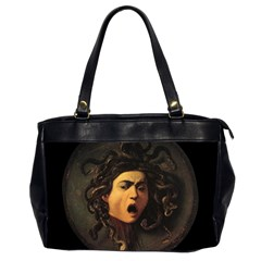 Medusa Office Handbags (2 Sides)  by Valentinaart
