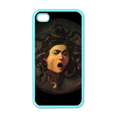 Medusa Apple Iphone 4 Case (color) by Valentinaart