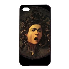 Medusa Apple Iphone 4/4s Seamless Case (black) by Valentinaart