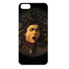 Medusa Apple Iphone 5 Seamless Case (white) by Valentinaart