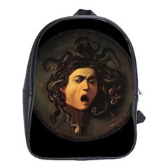 Medusa School Bag (xl) by Valentinaart