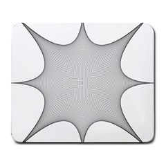Star Grid Curved Curved Star Woven Large Mousepads