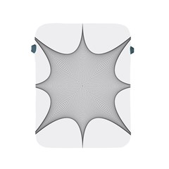 Star Grid Curved Curved Star Woven Apple Ipad 2/3/4 Protective Soft Cases