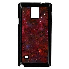 Abstract Fantasy Color Colorful Samsung Galaxy Note 4 Case (black)