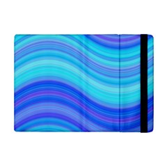 Blue Background Water Design Wave Ipad Mini 2 Flip Cases by BangZart