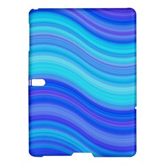 Blue Background Water Design Wave Samsung Galaxy Tab S (10 5 ) Hardshell Case