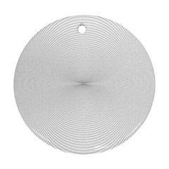 Background Line Motion Curve Round Ornament (two Sides) by BangZart