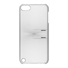 Background Line Motion Curve Apple Ipod Touch 5 Hardshell Case With Stand