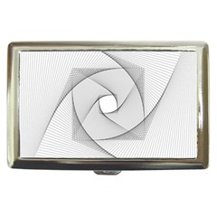 Rotation Rotated Spiral Swirl Cigarette Money Cases