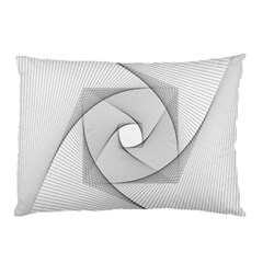 Rotation Rotated Spiral Swirl Pillow Case by BangZart