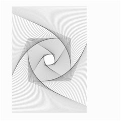 Rotation Rotated Spiral Swirl Large Garden Flag (two Sides)