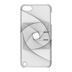 Rotation Rotated Spiral Swirl Apple Ipod Touch 5 Hardshell Case With Stand