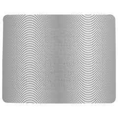 Monochrome Curve Line Pattern Wave Jigsaw Puzzle Photo Stand (rectangular) by BangZart