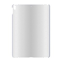 Monochrome Curve Line Pattern Wave Apple Ipad Pro 10 5   Hardshell Case by BangZart