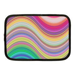 Wave Background Happy Design Netbook Case (medium)  by BangZart