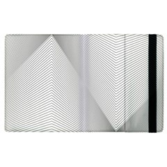 Background Pattern Stripe Apple Ipad 3/4 Flip Case
