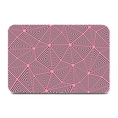 Triangle Background Abstract Plate Mats