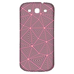 Triangle Background Abstract Samsung Galaxy S3 S Iii Classic Hardshell Back Case