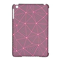 Triangle Background Abstract Apple Ipad Mini Hardshell Case (compatible With Smart Cover)