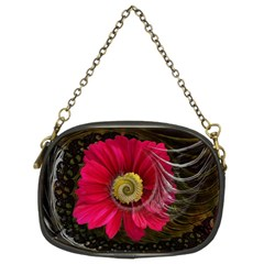 Fantasy Flower Fractal Blossom Chain Purses (two Sides)  by BangZart
