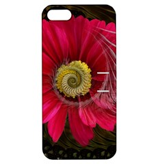 Fantasy Flower Fractal Blossom Apple Iphone 5 Hardshell Case With Stand