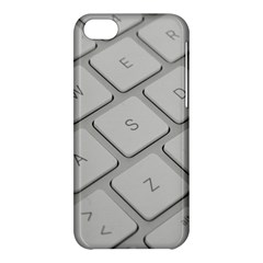 Keyboard Letters Key Print White Apple Iphone 5c Hardshell Case