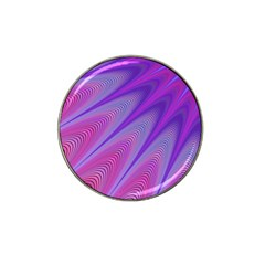 Purple Star Sun Sunshine Fractal Hat Clip Ball Marker (4 Pack) by BangZart